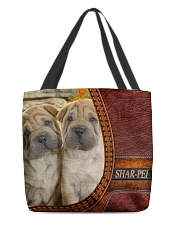 SHAR PEI 2 All-over Tote back