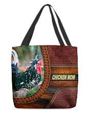 Chicken MOM 8 All-over Tote front