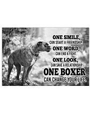 BOXER CHANGE YOUR LIFE Horizontal Poster tile