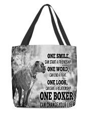 BOXER CHANGE YOUR LIFE All-over Tote front