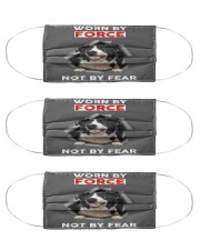 Border Collie  Cloth Face Mask - 3 Pack front