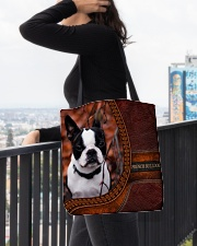 French Bulldog 1 All-over Tote aos-all-over-tote-lifestyle-front-05