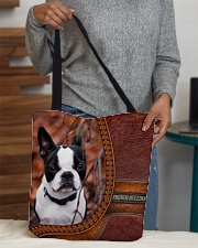 French Bulldog 1 All-over Tote aos-all-over-tote-lifestyle-front-10