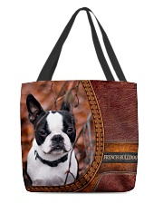 French Bulldog 1 All-over Tote front