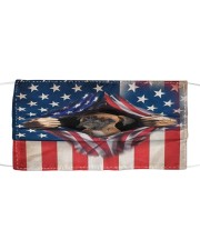 American Boxer  Cloth face mask front