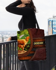 Chicken MOM 6 All-over Tote aos-all-over-tote-lifestyle-front-05