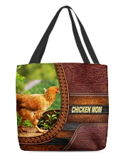 Chicken MOM 6 All-over Tote back