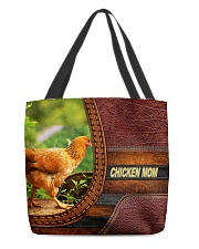 Chicken MOM 6 All-over Tote front