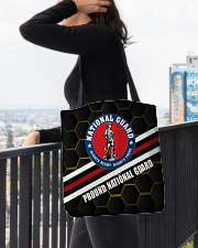 PROUD NATIONAL GUARD All-over Tote aos-all-over-tote-lifestyle-front-05