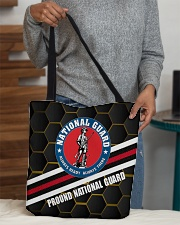 PROUD NATIONAL GUARD All-over Tote aos-all-over-tote-lifestyle-front-10