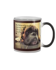 Boxer friend mug Color Changing Mug tile