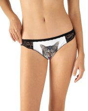 My Cat funny1 Women's Lace Panties aos-womens-lace-panty-lifestyle-front-11