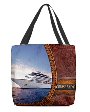 CRUISE LADY TOTE All-over Tote back