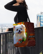 MY SHI TZU All-over Tote aos-all-over-tote-lifestyle-front-05