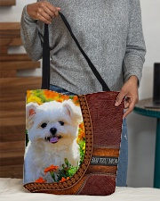 MY SHI TZU All-over Tote aos-all-over-tote-lifestyle-front-10