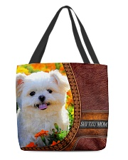MY SHI TZU All-over Tote back