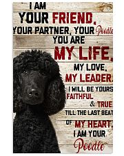 My Poodle 11x17 Poster front
