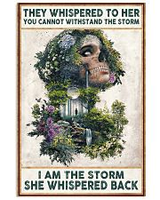 I AM THE STORRM POSTER 24x36 Poster front