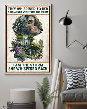 I AM THE STORRM POSTER 24x36 Poster lifestyle-poster-1