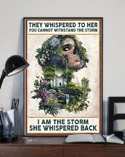 I AM THE STORRM POSTER 24x36 Poster lifestyle-poster-2