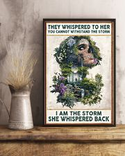 I AM THE STORRM POSTER 24x36 Poster lifestyle-poster-3
