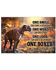 BOXER CHANGE YOUR LIFE Poster 17x11 Poster front
