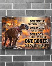 BOXER CHANGE YOUR LIFE Poster 17x11 Poster poster-landscape-17x11-lifestyle-18