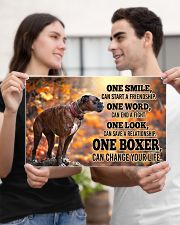 BOXER CHANGE YOUR LIFE Poster 17x11 Poster poster-landscape-17x11-lifestyle-20