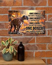 BOXER CHANGE YOUR LIFE Poster 17x11 Poster poster-landscape-17x11-lifestyle-23