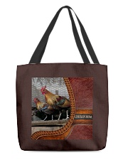 Chicken MOM 4 All-over Tote back