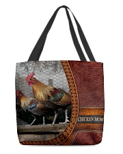 Chicken MOM 4 All-over Tote front