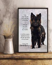 German Shepherd Poster 11x17 Poster lifestyle-poster-3