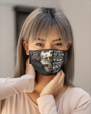 I AM THE STORM - Orders SHIP WITHIN 3 TO 5 DAY Cloth face mask aos-face-mask-lifestyle-18