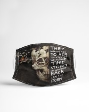 I AM THE STORM - Orders SHIP WITHIN 3 TO 5 DAY Cloth face mask aos-face-mask-lifestyle-22