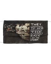 I AM THE STORM - Orders SHIP WITHIN 3 TO 5 DAY Cloth face mask front
