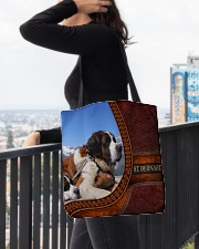 St  Bernard  2 All-over Tote aos-all-over-tote-lifestyle-front-05