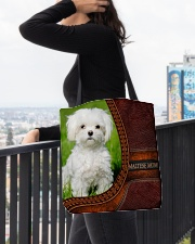 Maltese MOM All-over Tote aos-all-over-tote-lifestyle-front-05