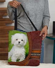 Maltese MOM All-over Tote aos-all-over-tote-lifestyle-front-10