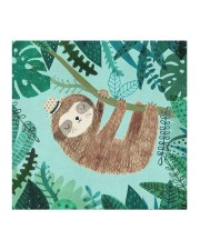 Sloths FM 2005 Cloth face mask aos-face-mask-coverlet-lifestyle-front-02