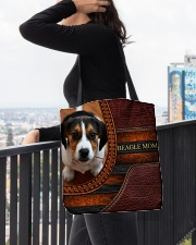 BEAGLE MOM All-over Tote aos-all-over-tote-lifestyle-front-05