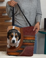 BEAGLE MOM All-over Tote aos-all-over-tote-lifestyle-front-10