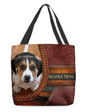 BEAGLE MOM All-over Tote back