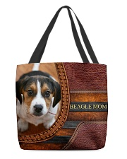 BEAGLE MOM All-over Tote front