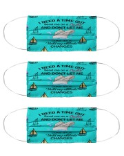 I Need a Time out Cloth Face Mask - 3 Pack front
