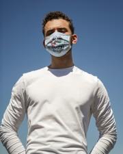 Camping - Kinda Girl Cloth face mask aos-face-mask-lifestyle-11