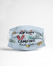 Camping - Kinda Girl Cloth face mask aos-face-mask-lifestyle-22