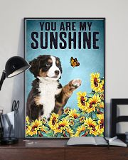 ou are my Sunshine  Bernese Mountain 16x24 Poster lifestyle-poster-2