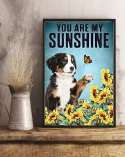 ou are my Sunshine  Bernese Mountain 16x24 Poster lifestyle-poster-3