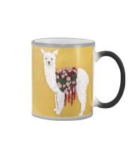 Llama 1099 Color Changing Mug tile