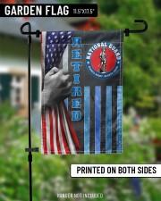 "PROUD NATIONAL GUARD RETIRED 11.5""x17.5"" Garden Flag aos-garden-flag-11-5-x-17-5-lifestyle-front-13"